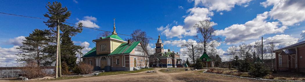 Важеозерский монастырь (Vasojärven luostari)